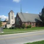 Eine von vielen Kirchen direkt am Campus