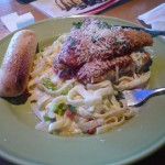 Applebee's Chicken Parmesan Stack (omg, so geil!)